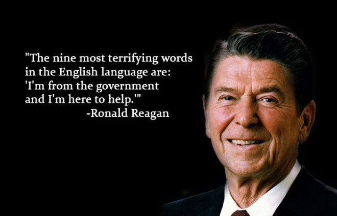 Reagan-Terrifying Words