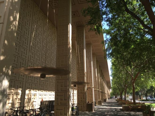 Stanford colonnade