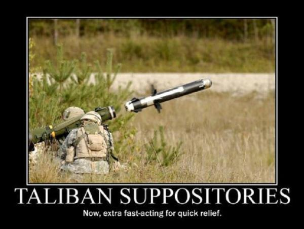 Taliban Suppositories