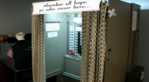 Voting Booth-Abandon_hope