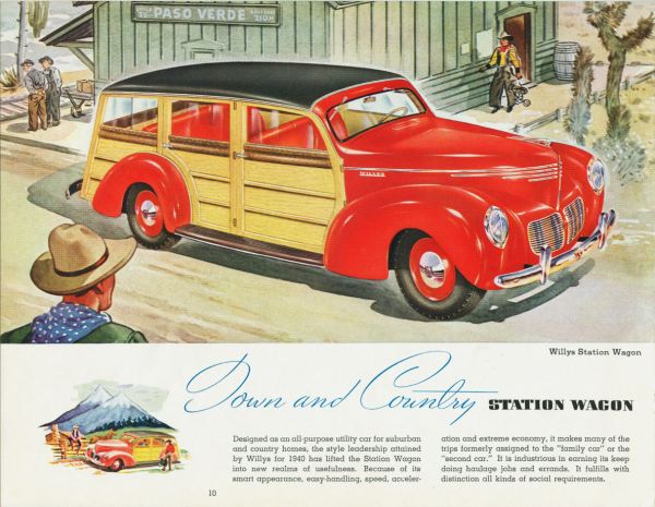 1940 Willys station wagon