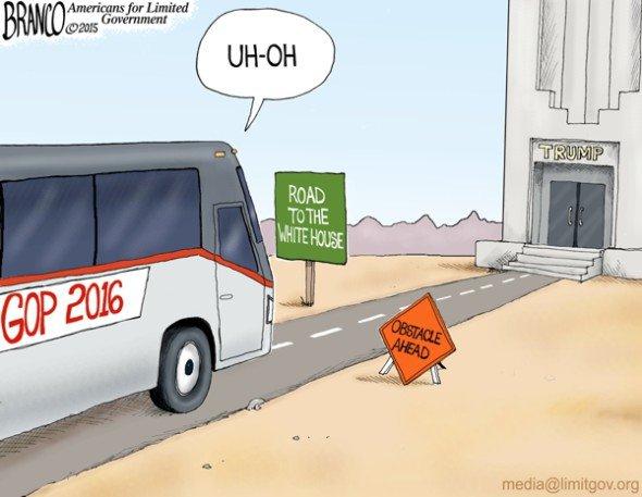 Branco_Trump_blocks_road