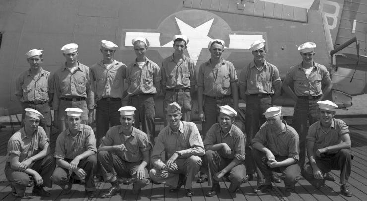 Gambier Bay crew