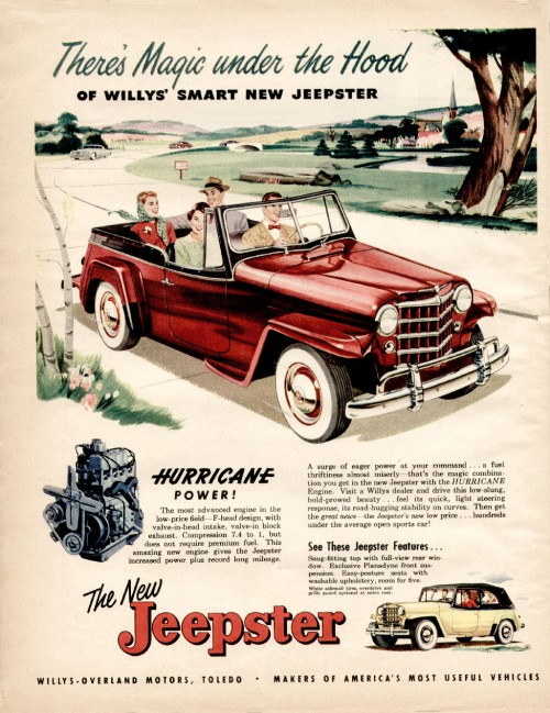 Gear Head Tuesday -Willys Aero | '56 Packard Man