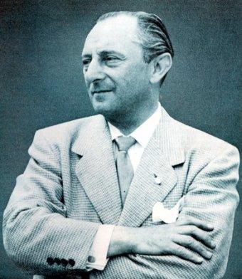Maximilian Edwin Hoffman, Mercedes-Benz Importeur für USA in den 1950er-Jahren und Initiator der Fahrzeuge 300 SL (W 198 I), 300 SL Roadster (W 198 II) und 190 SL (W 121).