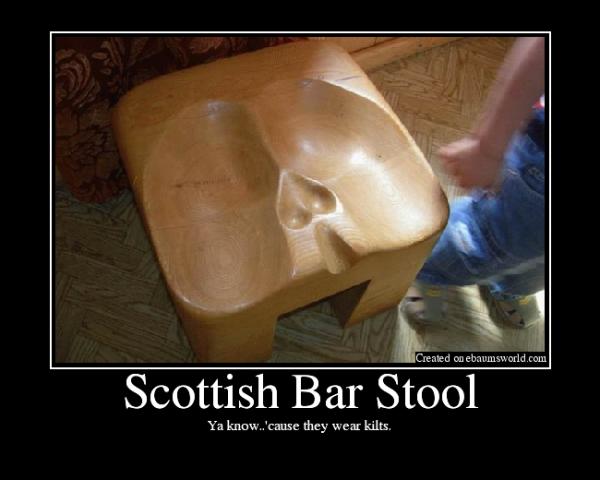 Scottish Bar Stool