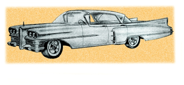 """from the December 1957 """"Motor Trend"""""""