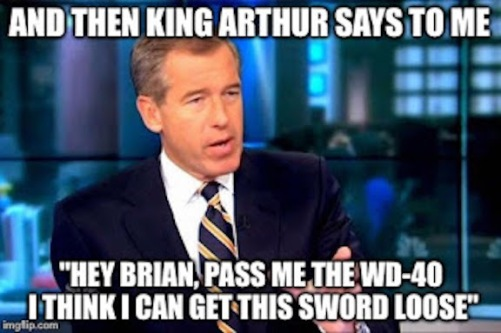 Brian Williams_King_Arthur
