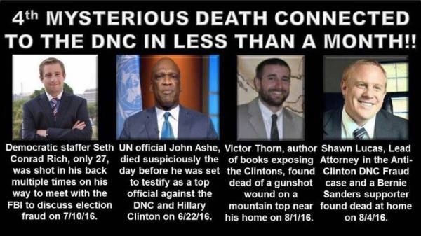Clinton body count additions
