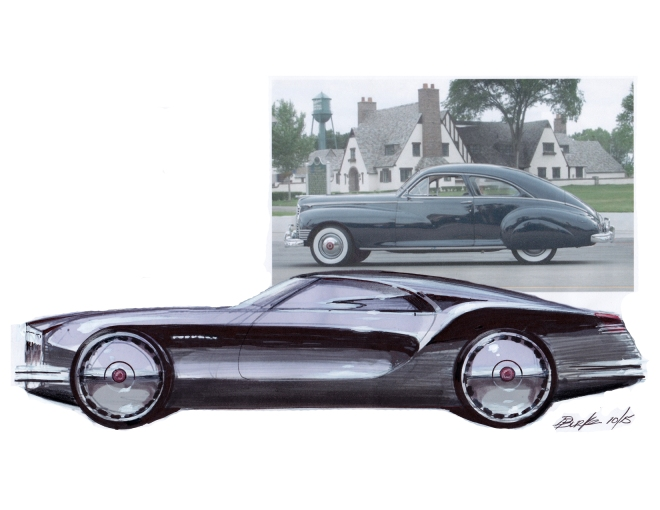 Dennis Burke Design for Packard