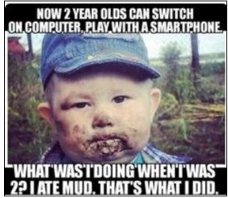 Eating Mud