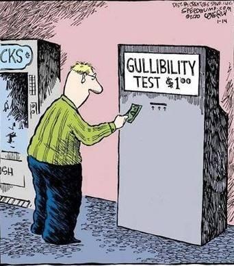 Gullibility test