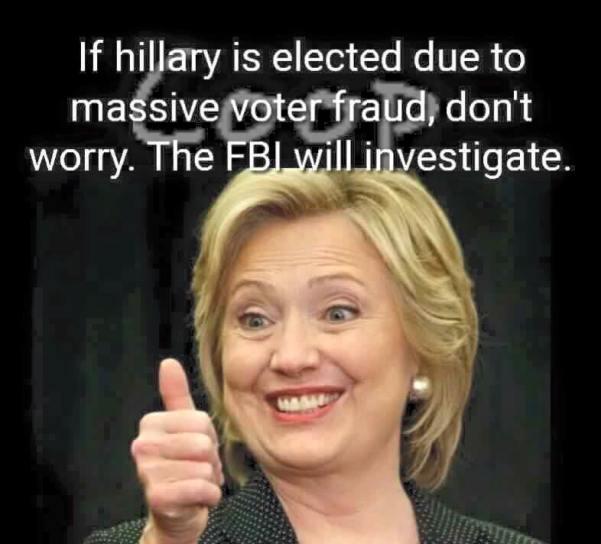HItlery_FBI_will_investigate