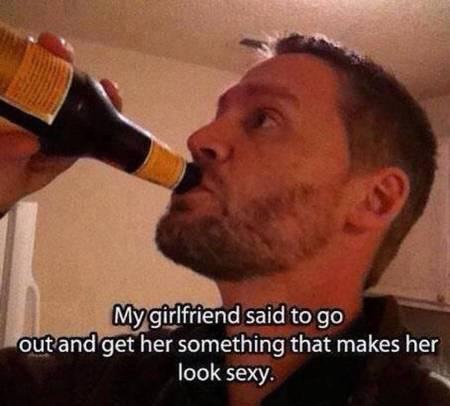 Make girlfriend look sexy