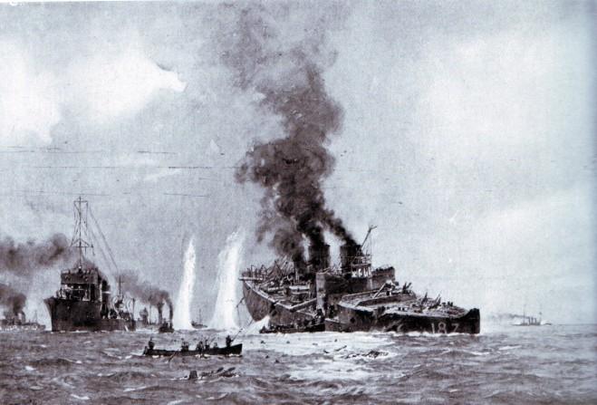 Sinking-of-V187