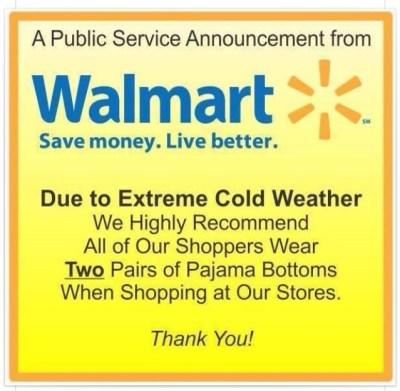 Walmart announcement