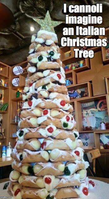 Cannolli Christmas Tree