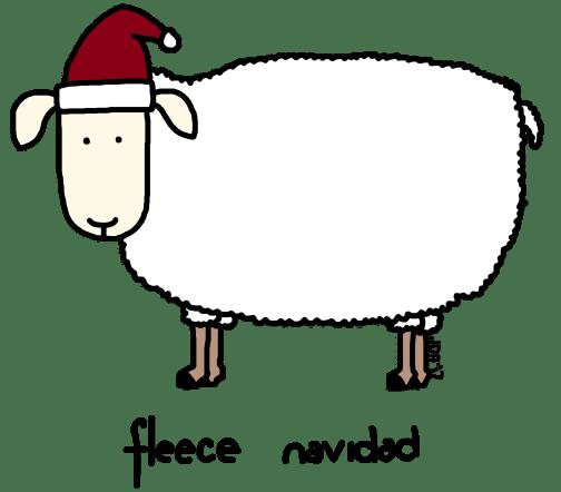 fleece-navidad