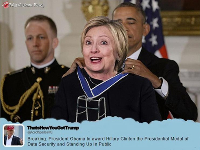 hitlery-gets-a-medal