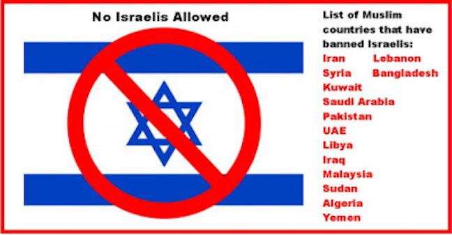 israelis-not-allowed