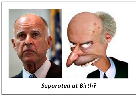 jerrybrownismr-burns-separated_at_birth