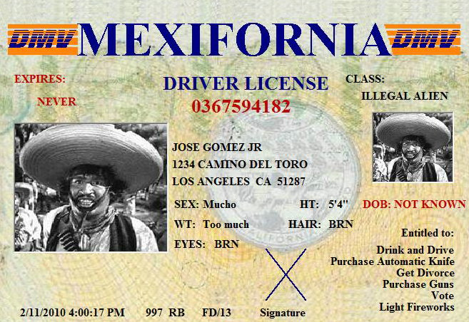 mexifornia-license