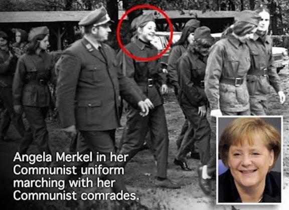 AngelMerkelCommunist