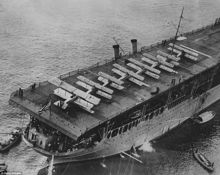 Steamship Sunday – (UPDATED) The First U S  Carrier, Langley