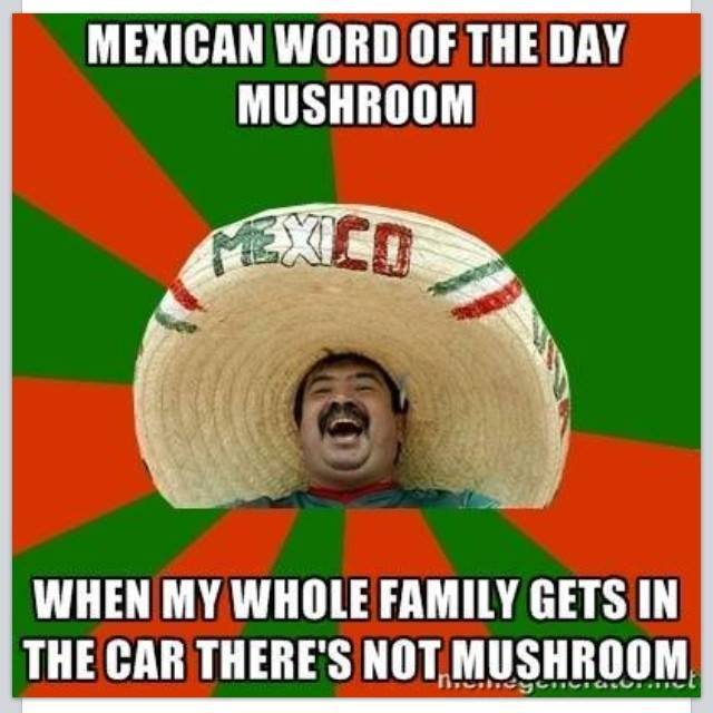 Mexican Word of the Day -mushroom