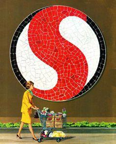 Safeway logo-60s