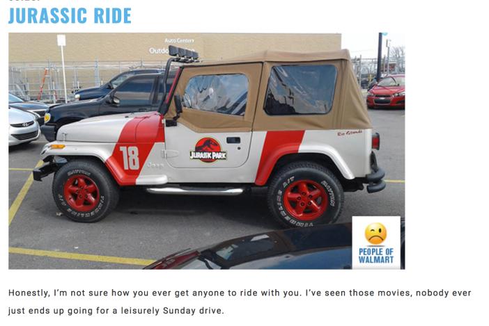 Walmart Car Show-Jurassic