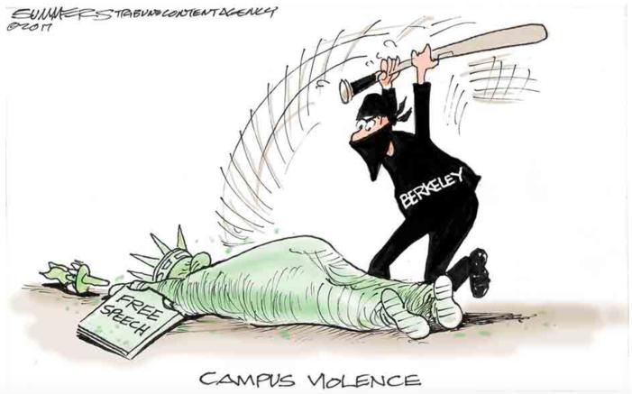 Berserkeley-violence