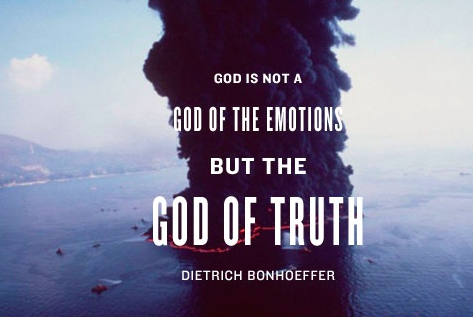 Bonhöffer:God of Truth