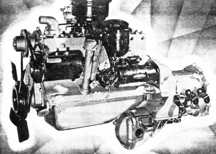 FWD Kaiser engine
