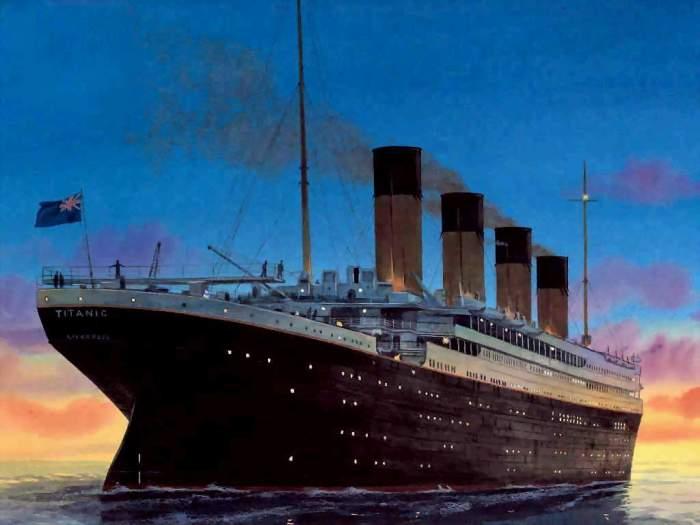 Titanic-stern