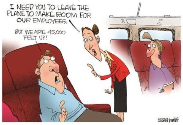United-45,000 ft