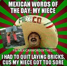 Mexican-word-my-niece