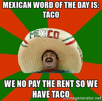 Mexican word-Taco