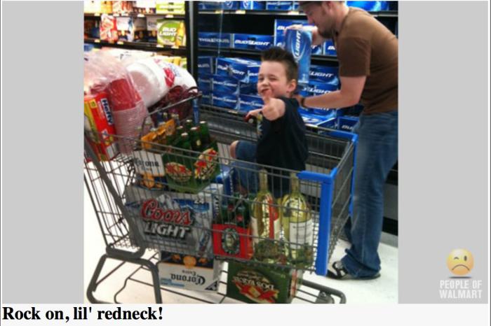 Walmartian-Redneck