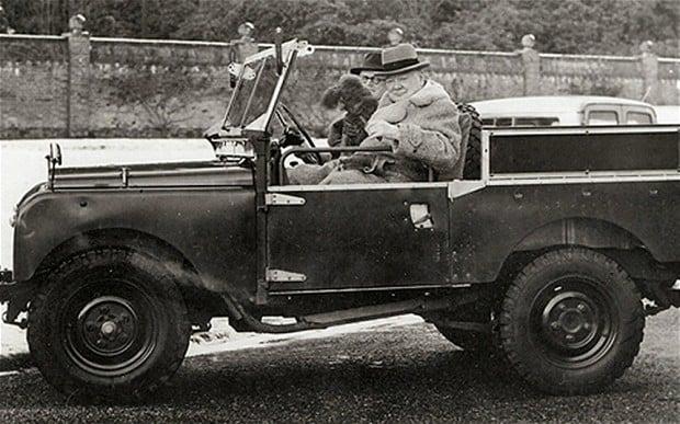 Winnie's Land Rover