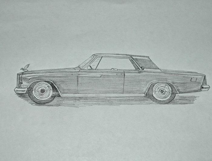 1962 Packard Hawk idea