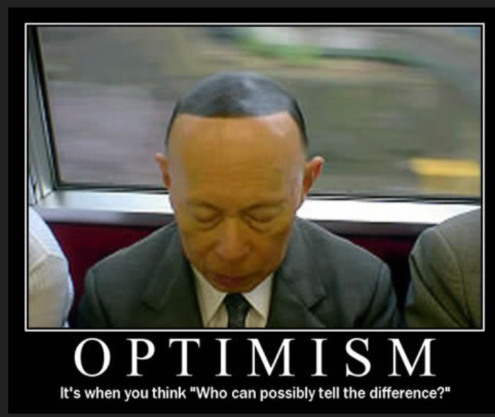 Bald-optimism