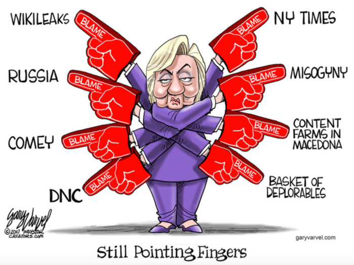 Hitlery-finger-pointing