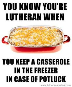 Lutheran-hotdish