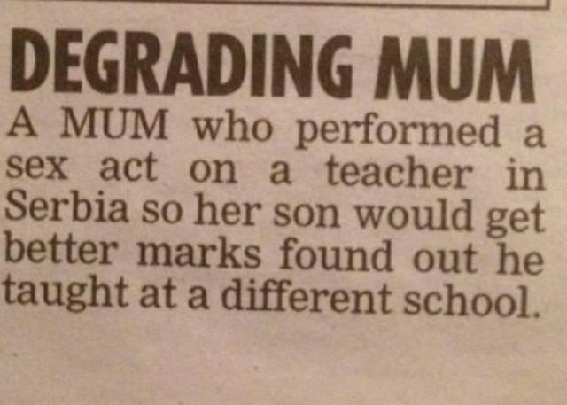 degrading_mum