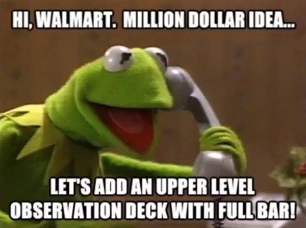 Walmart Observation Deck