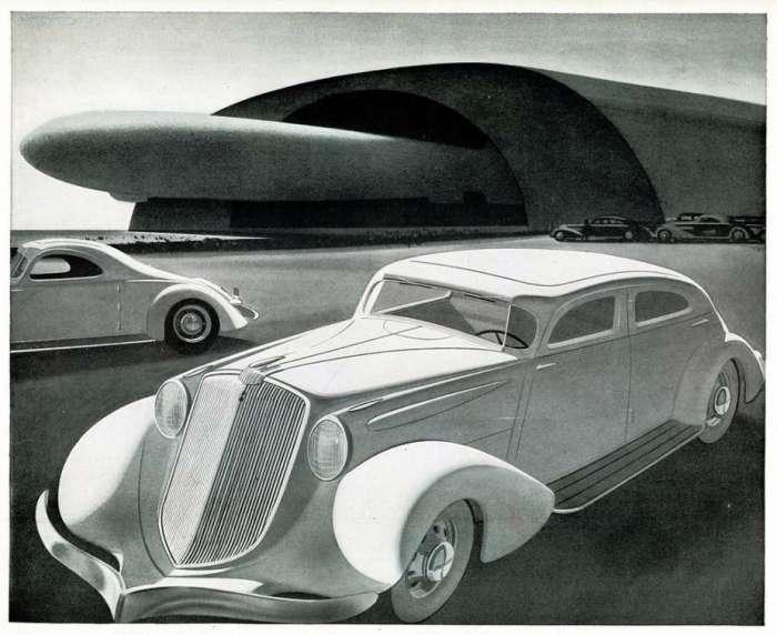 1934 Huppmobile Aerodynamic