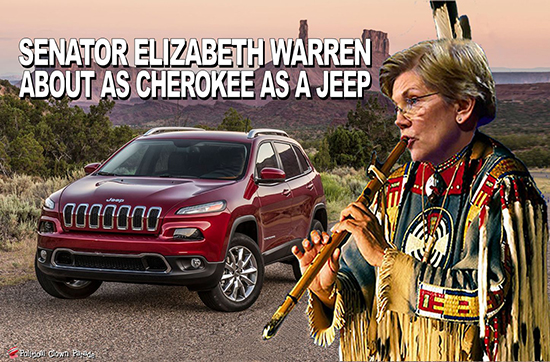 About As Cherokee As A Jeep