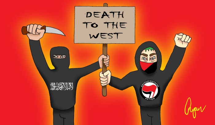 Antifa-and-ISIS