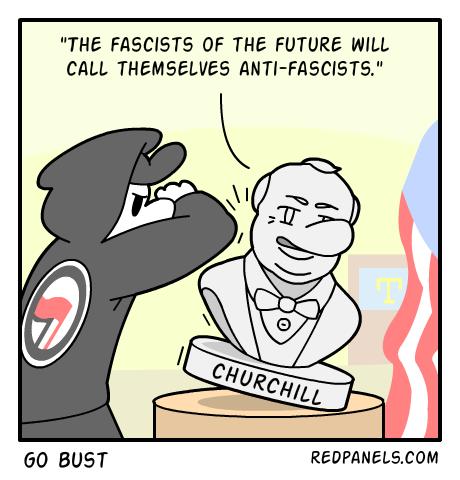 antifa-churchill
